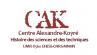 logo Centre Alexandre-Koyré (CAK)
