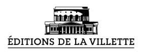 logo Éditions de la Villette