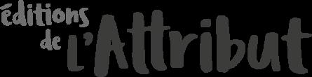 logo Editions de l'attribut