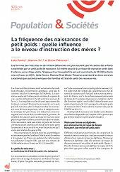Population et Sociétés