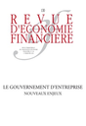Revue d'économie financière