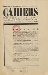 Cahiers du Communisme