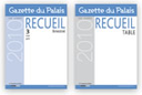 Gazette du Palais - recueil bimestriel