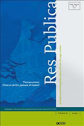 Res publica : revue de l'Institut belge de science politique