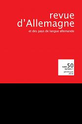 Revue d'Allemagne et des Pays de langue allemande