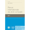 Revue internationale de droit comparé