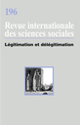 Revue internationale des sciences sociales
