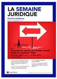 Semaine juridique - édition générale