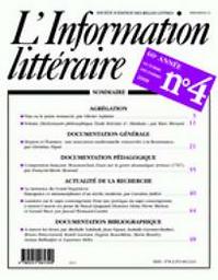 information littéraire