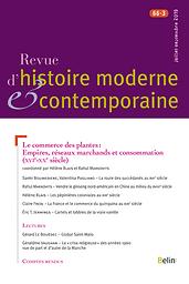 Revue d'histoire moderne & contemporaine