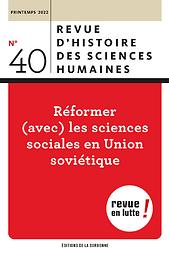 Revue d'histoire des sciences humaines