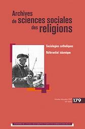 Archives de sciences sociales des religions