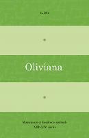 Oliviana. Mouvements et dissidences spirituels, XIIIe-XIVe siècles