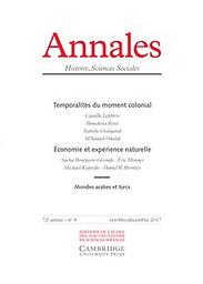 Annales : Histoire, Sciences Sociales