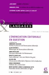 Communication & Langages