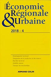 Revue d'économie régionale et urbaine