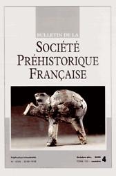 Bulletin de la Société préhistorique française