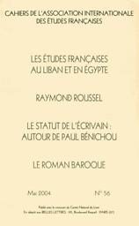 Cahiers de l'Association internationale des études françaises