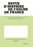 Revue d'histoire de l'Église de France