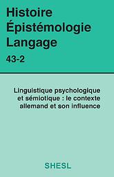Histoire, Epistémologie, Langage