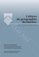 Cahiers de géographie du Québec