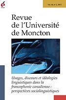Revue de l'Université de Moncton