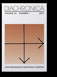 Diachronica : International Journal for Historical Linguistics