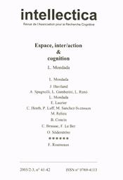 Intellectica : Revue de L'Association pour la Recherche Cognitive
