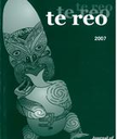 Te Reo : Journal of the Linguistic Society of New Zealand