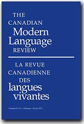 Canadian Modern Language Review = La Revue Canadienne des Langues Vivantes