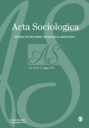 Acta Sociologica : Journal of the Scandinavian Sociological Association