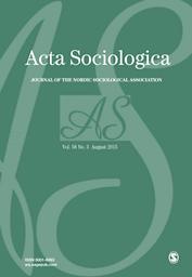 Acta Sociologica : Journal of the Scandinavian Sociological Association