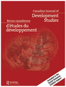 Canadian Journal of Development Studies = Revue canadienne d'études du développement