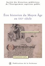 Actes de la Société des historiens médiévistes de l'enseignement supérieur public