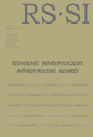 Recherches sémiotiques / Semiotic Inquiry