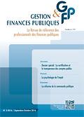 Gestion & finances publiques : la revue