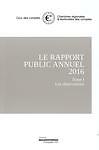 Rapport public annuel. Cour des comptes
