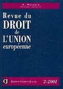 Revue du droit de l'Union Européenne