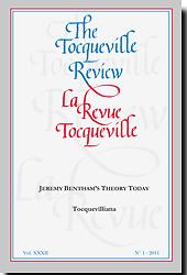Tocqueville Review = La revue Tocqueville