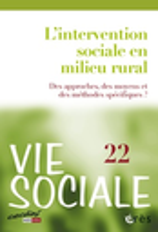 Vie sociale : cahiers du CEDIAS