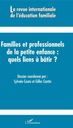 revue internationale de l'éducation familiale