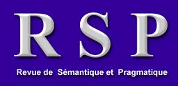 Revue de sémantique et pragmatique