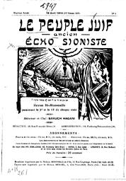 Peuple juif : revue bi-mensuelle