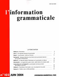 information grammaticale