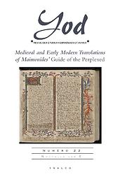 Yod : revue des études hébraïques et juives