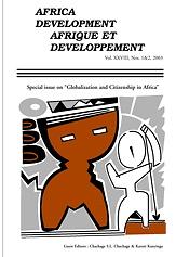 Afrique et Développement = Africa Development