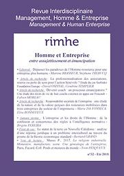 Revue Interdisciplinaire Management, Homme & Entreprise