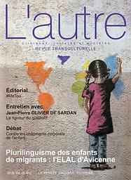 Autre : cliniques, cultures et sociétés : revue transculturelle