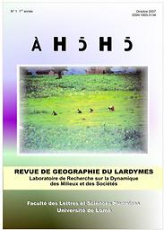 ÀHכHכ = AHOHO Revue de Géographie du LARDYMES