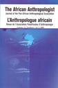 anthropologue Africain = The African Anthropologist